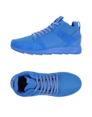 Высокие кеды и кроссовки BOXFRESH. Цвет: синий