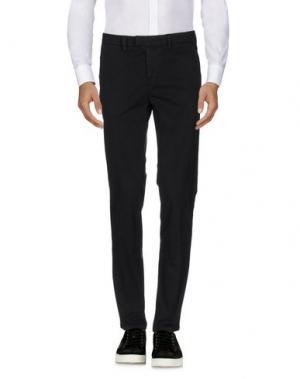 Повседневные брюки HAIKURE. Цвет: черный