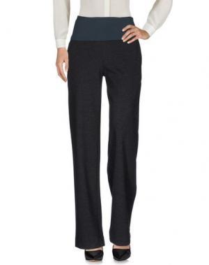 Повседневные брюки LA FABRIQUE. Цвет: стальной серый
