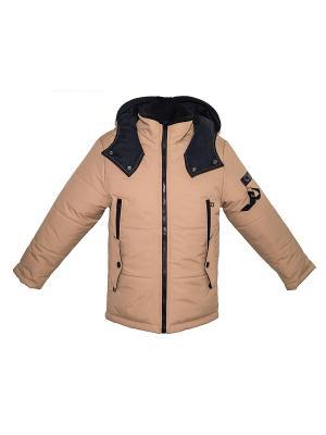 Куртка Bell bimbo. Цвет: коричневый