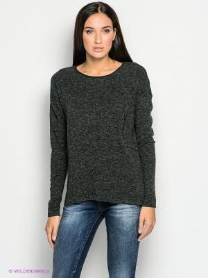 Джемпер Vero moda. Цвет: темно-серый