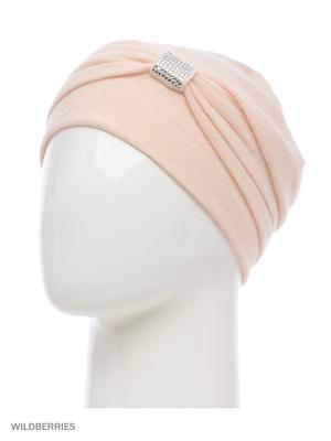 Шапка Vita pelle. Цвет: бледно-розовый