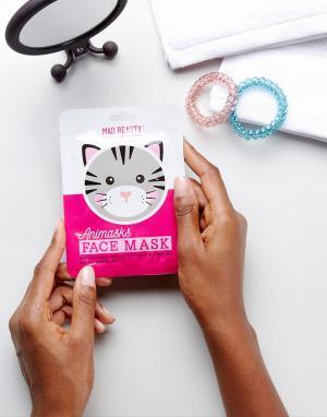 Beauty Extras Эксклюзивная листовая маска для лица в виде кота ASOS. Цвет: мульти