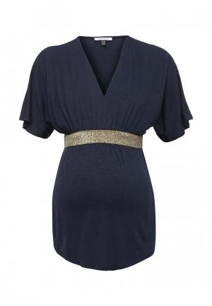 Блуза Envie de Fraise. Цвет: синий
