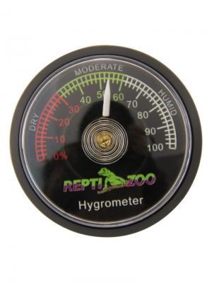 Гигрометр аналоговый 47*10мм. REPTI-ZOO. Цвет: черный