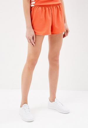 Шорты спортивные ASICS. Цвет: оранжевый