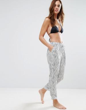 Seafolly Пляжные брюки. Цвет: мульти