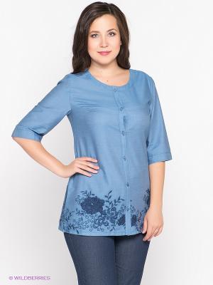 Жакет D`imma. Цвет: голубой