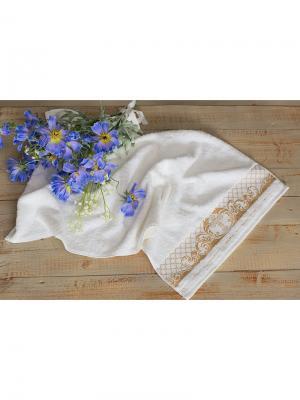 Крестильное полотенце-конверт малое Alivia Kids. Цвет: золотистый, белый