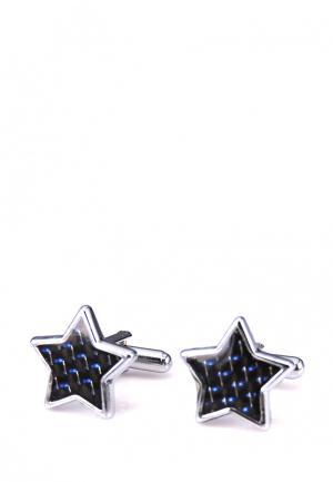 Запонки Churchill accessories. Цвет: черный