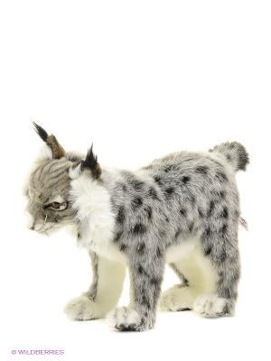 Иберийская рысь, 32 см Hansa. Цвет: серый