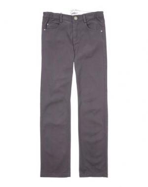 Повседневные брюки GUSELLA. Цвет: свинцово-серый