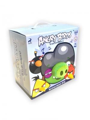 Интерактивная игра Свинка в каске и 3 птички CHERICOLE. Цвет: зеленый, красный, желтый, черный