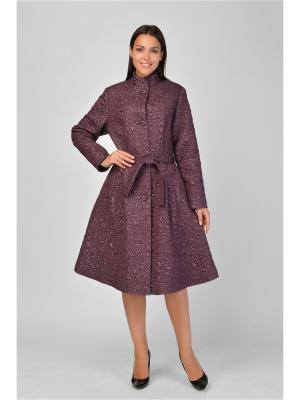 Пальто Maria Velada. Цвет: сиреневый