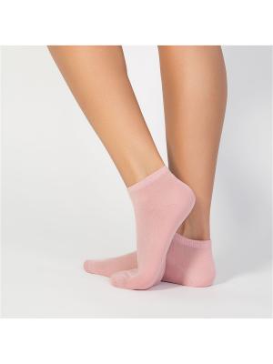 Носки женские cot IBD733001 rosa antico Incanto. Цвет: розовый