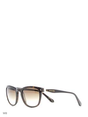 Солнцезащитные очки AN 739 02 Vivienne Westwood. Цвет: коричневый