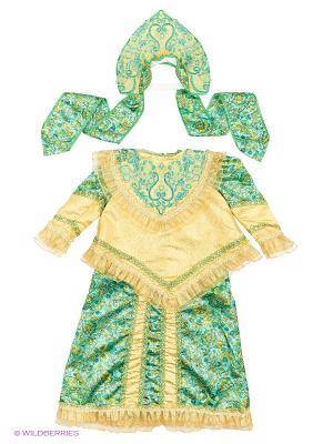 Карнавальный костюм Царевна Батик. Цвет: темно-бежевый, бронзовый, коричневый