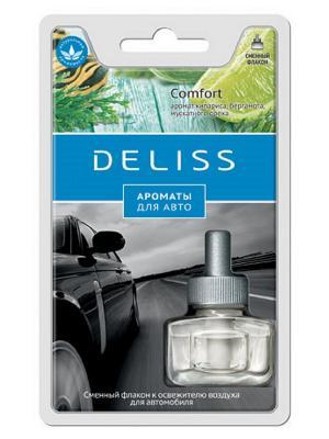 Автомобильный ароматизатор, сменный флакон Deliss. Цвет: синий