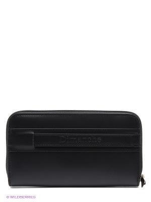 Портмоне-клатч XL Dimanche. Цвет: черный
