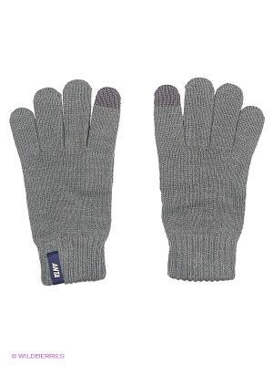 Перчатки ANTA. Цвет: серый
