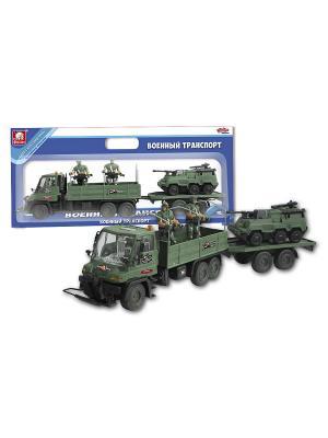 Набор военной техники с фигурками S-S. Цвет: темно-зеленый
