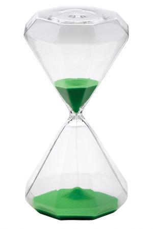 Песочные часы на 30 минут Bitossi. Цвет: зеленый