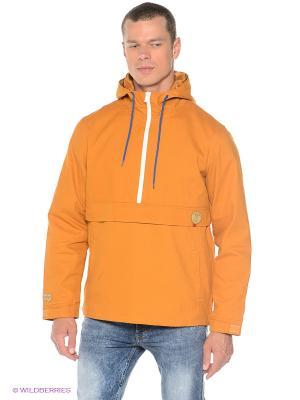 Куртка Cotton True Spin. Цвет: горчичный