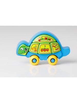 Игрушка развивающая Умная черепаха ТИГРЕС. Цвет: синий, зеленый