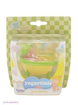 Пупс Йогуртини Мини с аксессуаром Yogurtinis. Цвет: желтый