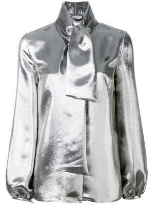 Рубашка Delirious Racil. Цвет: металлический