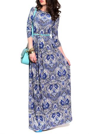 Платье FRANCESCA LUCINI. Цвет: ле бурже