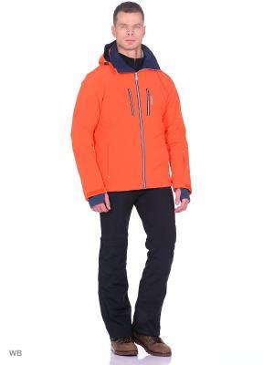 Куртка горнолыжная Tenson. Цвет: оранжевый
