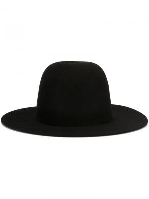 Шляпа Sesam Études. Цвет: чёрный