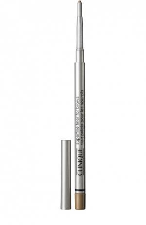 Супертонкий карандаш для глаз Clinique. Цвет: бесцветный