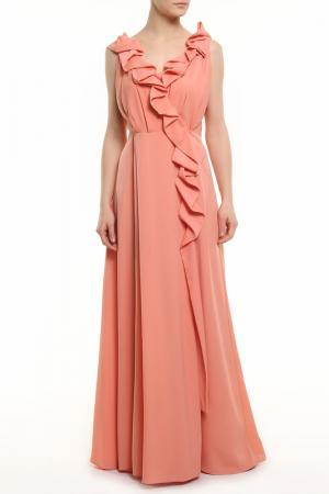 Платье BGN. Цвет: dark poem, темно-розовый