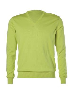 Пуловер Kangra. Цвет: зеленый