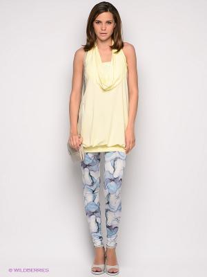 Леггинсы Vero moda. Цвет: бирюзовый, голубой, светло-желтый, сиреневый