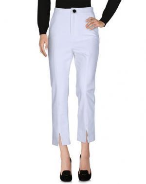 Повседневные брюки OPENING CEREMONY. Цвет: белый