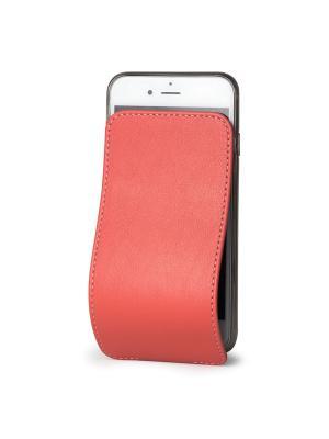 Чехол для iPhone 6 Plus / 6S Robert Теленок Marcel. Цвет: светло-коралловый, коралловый