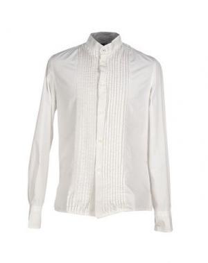 Pубашка DNM-BRAND. Цвет: белый