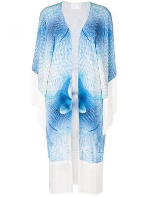 Пальто-халат Angel Athena Procopiou. Цвет: синий