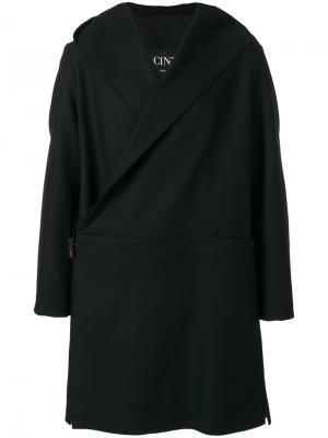 Asymmetric coat Cini. Цвет: чёрный