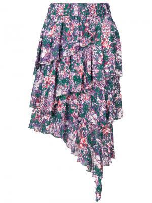 Юбка с цветочным принтом Jeezon Isabel Marant Étoile. Цвет: многоцветный