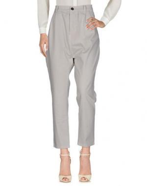 Повседневные брюки BRAND UNIQUE. Цвет: светло-серый