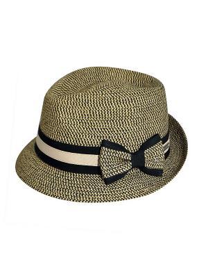 Шляпа Betmar. Цвет: бежевый, черный