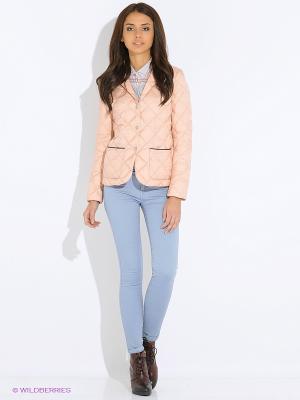 Куртка Tommy Hilfiger. Цвет: розовый