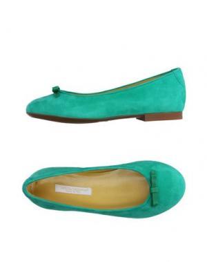 Балетки DOLCE & GABBANA. Цвет: светло-зеленый