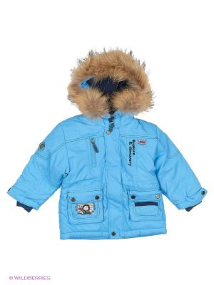 Куртка Hippo Hoppo. Цвет: голубой