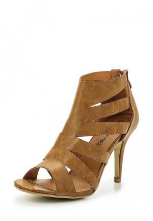 Босоножки Retro Shoes. Цвет: коричневый
