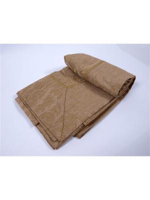 Покрывало Амелия 240х260 см Ivett Classic. Цвет: коричневый